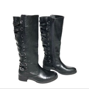 Shoes - 🔥 NWOT Black Knee High Boots!